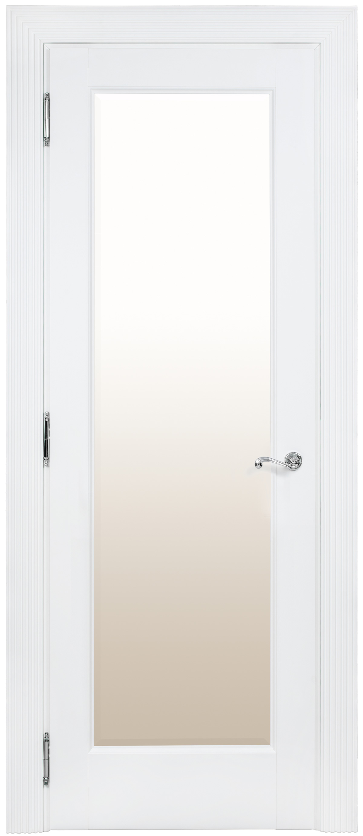 Белая классическая межкомнатная дверь Academia 1S