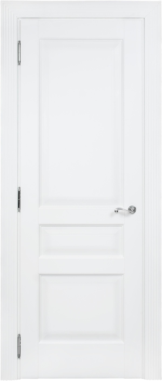 Белая дверь межкомнатная Academia 3FnP-2