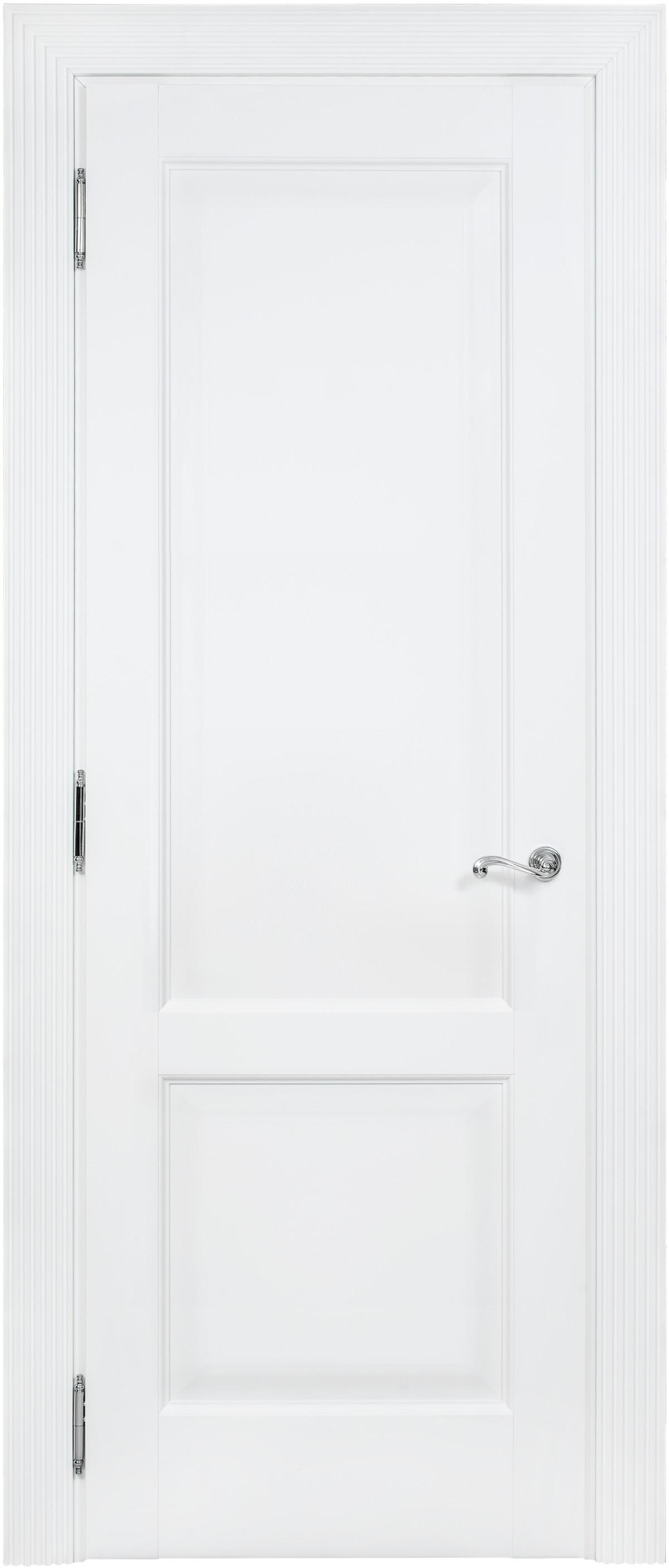 Белая межкомнатная дверь Academia 2F