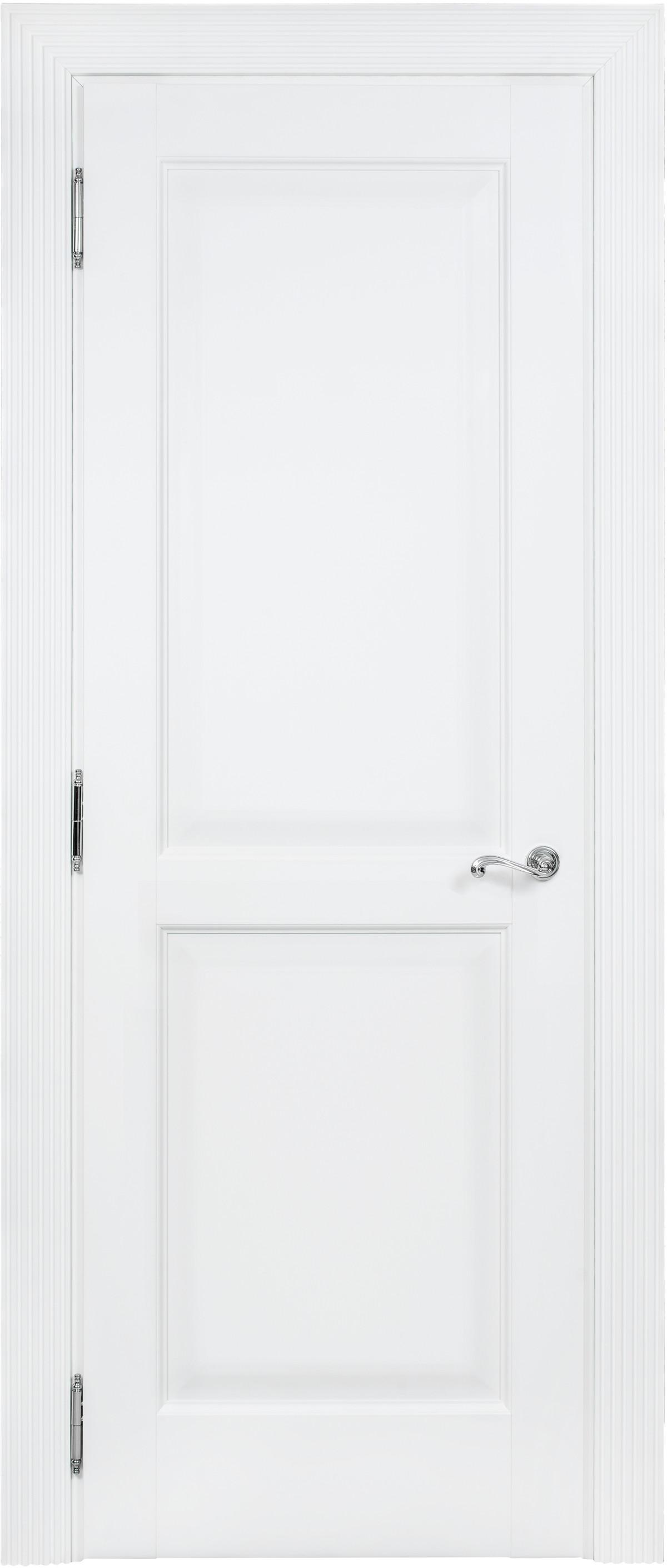 Белая межкомнатная классическая дверь Academia 2F-2