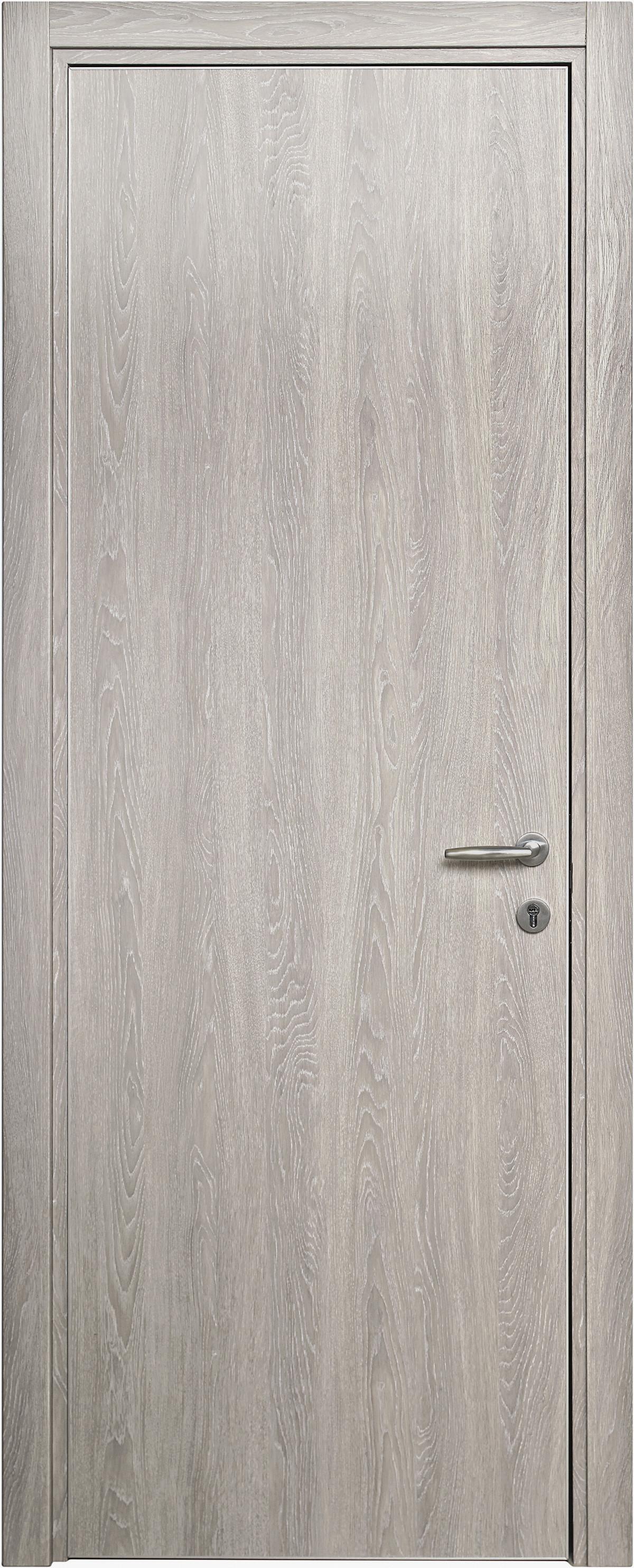 Межкомнатная / входная дверь, отделка: экошпон ДУБ DECAPE, Glossy