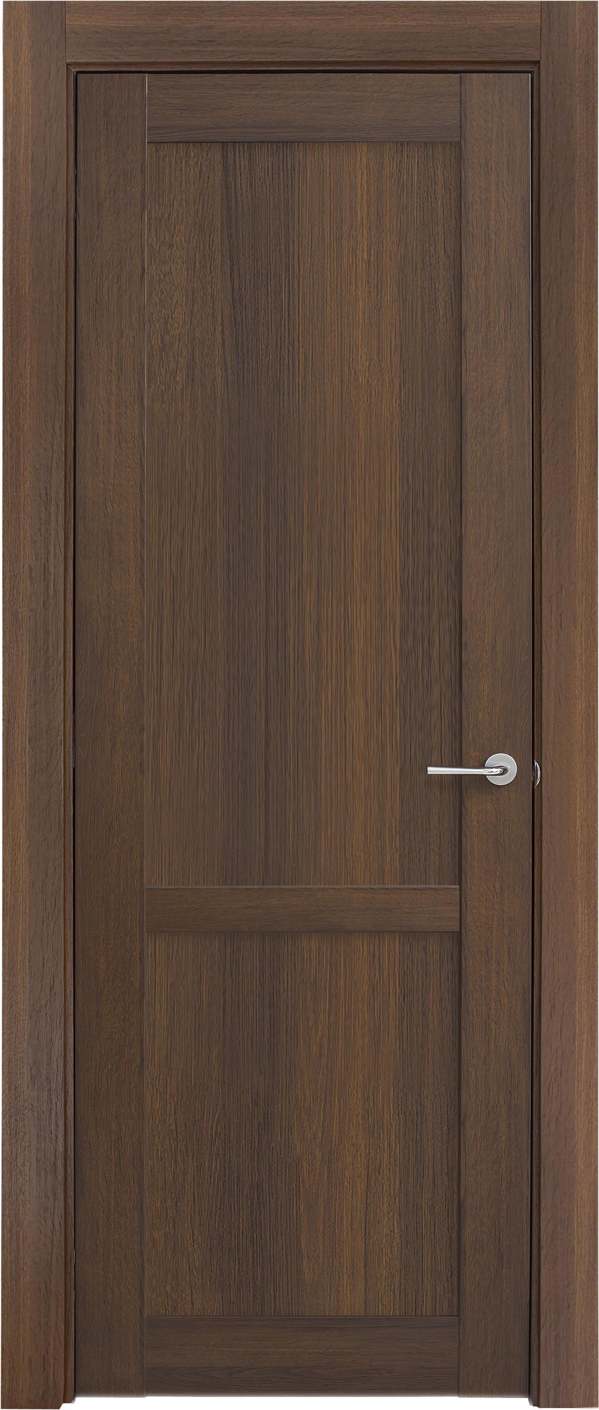 Межкомнатная / входная дверь, отделка: экошпон ГРЕЧЕСКИЙ ОРЕХ, Solo 2B