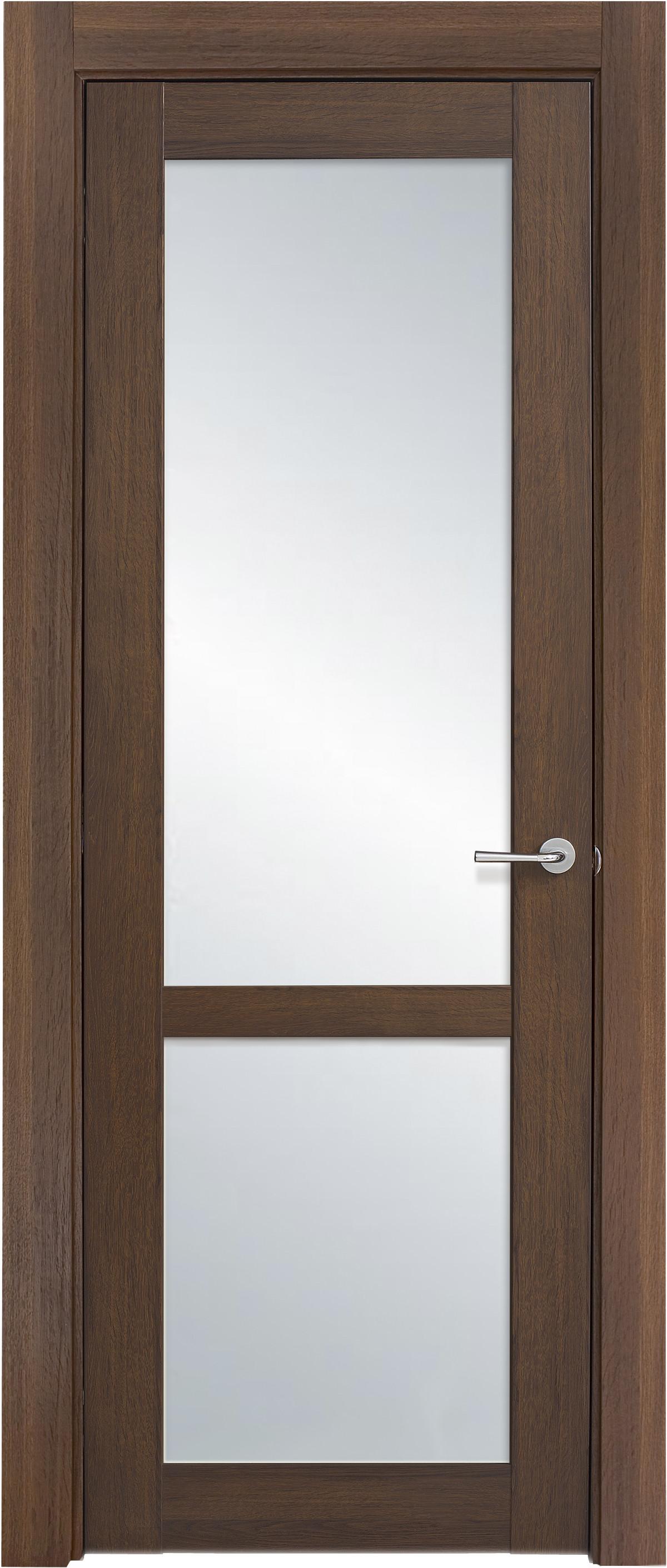 Межкомнатная / входная дверь, отделка: экошпон ГРЕЧЕСКИЙ ОРЕХ, Solo 2S