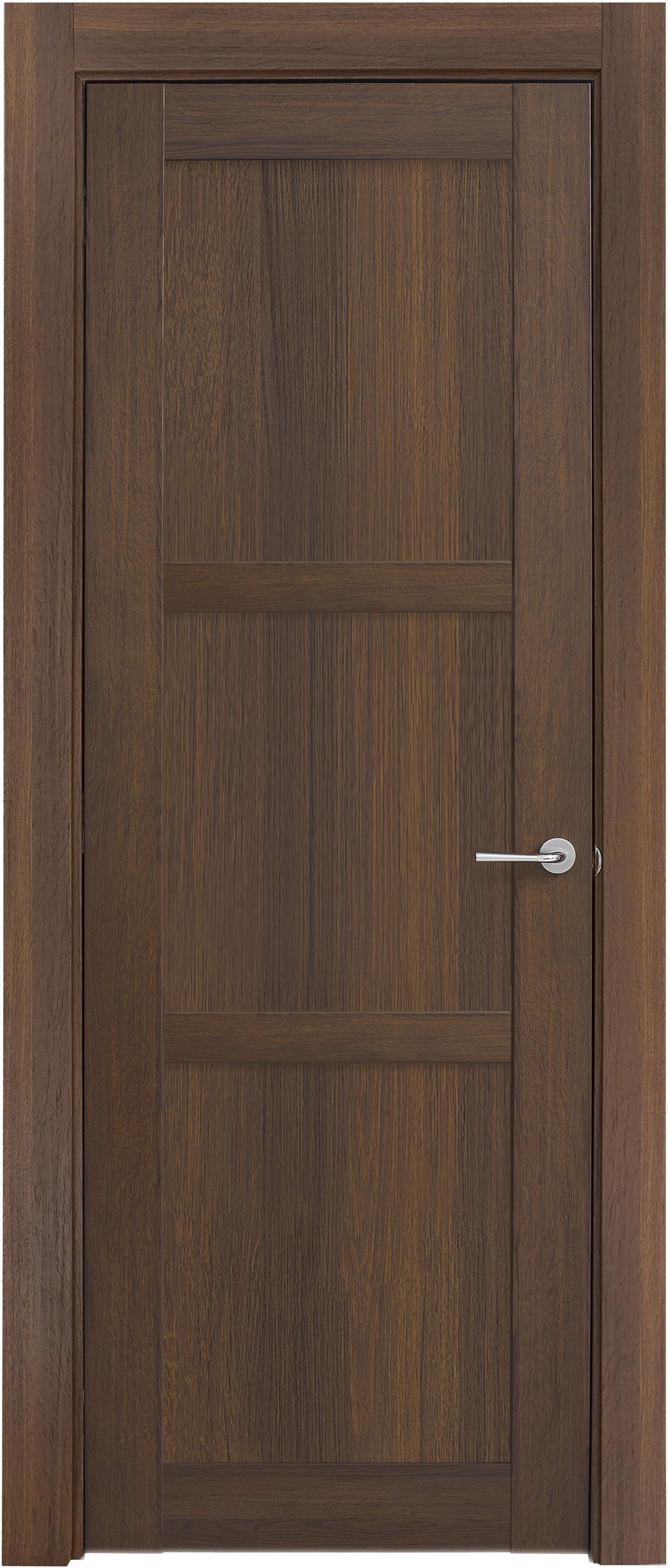 Межкомнатная / входная дверь, отделка: экошпон ГРЕЧЕСКИЙ ОРЕХ, Solo 3B