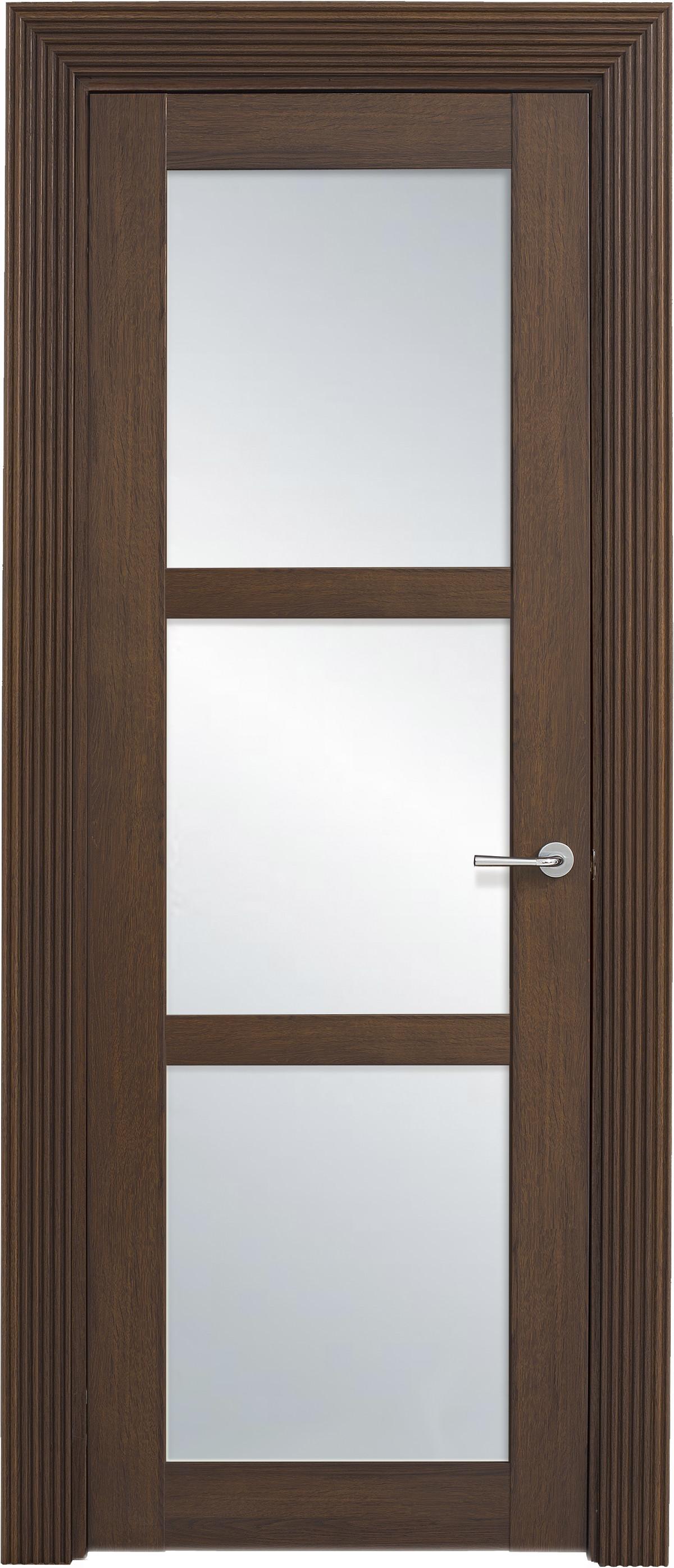 Межкомнатная / входная дверь, отделка: экошпон ГРЕЧЕСКИЙ ОРЕХ, Solo 3S