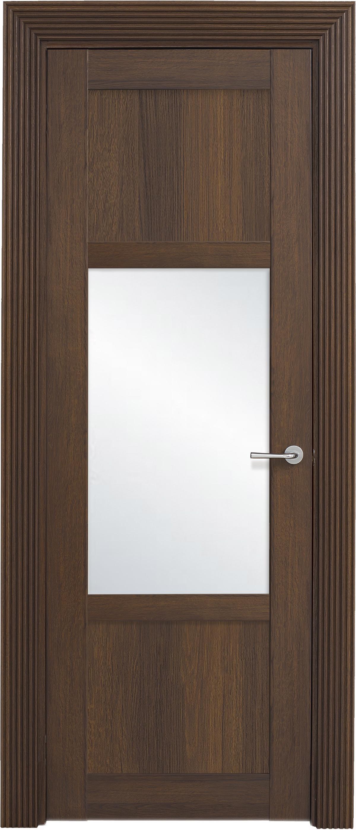 Межкомнатная / входная дверь, отделка: экошпон ГРЕЧЕСКИЙ ОРЕХ, Solo 2BSnP-1