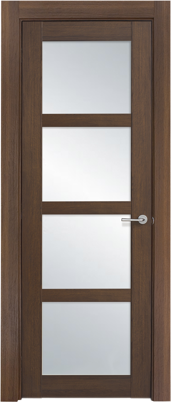 Межкомнатная / входная дверь, отделка: экошпон ГРЕЧЕСКИЙ ОРЕХ, Solo 4S