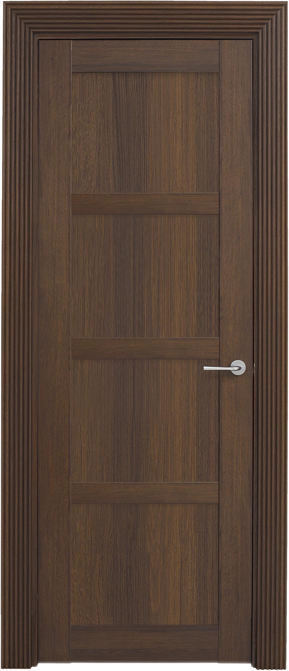 Межкомнатная / входная дверь, отделка: экошпон ГРЕЧЕСКИЙ ОРЕХ, Solo 4B