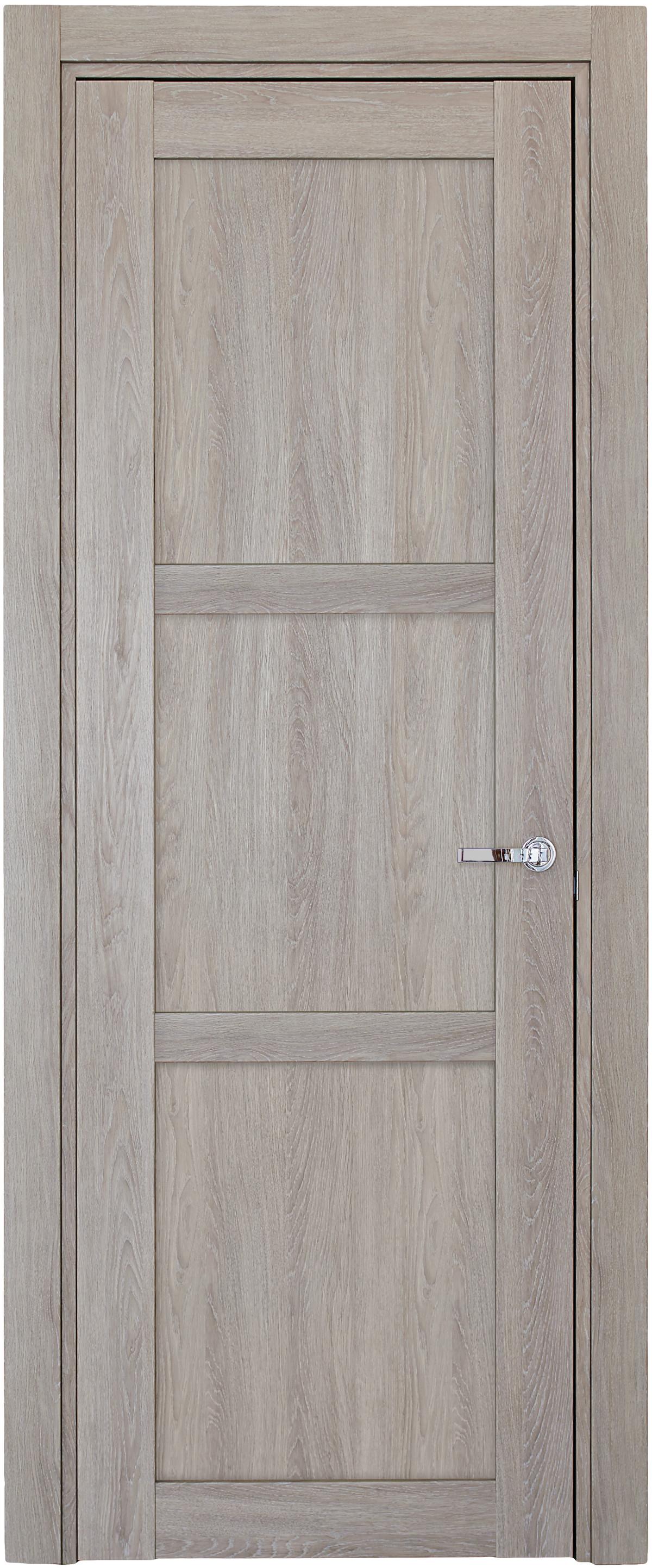 Межкомнатная / входная дверь, отделка: экошпон ДУБ DECAPE, Solo 3B