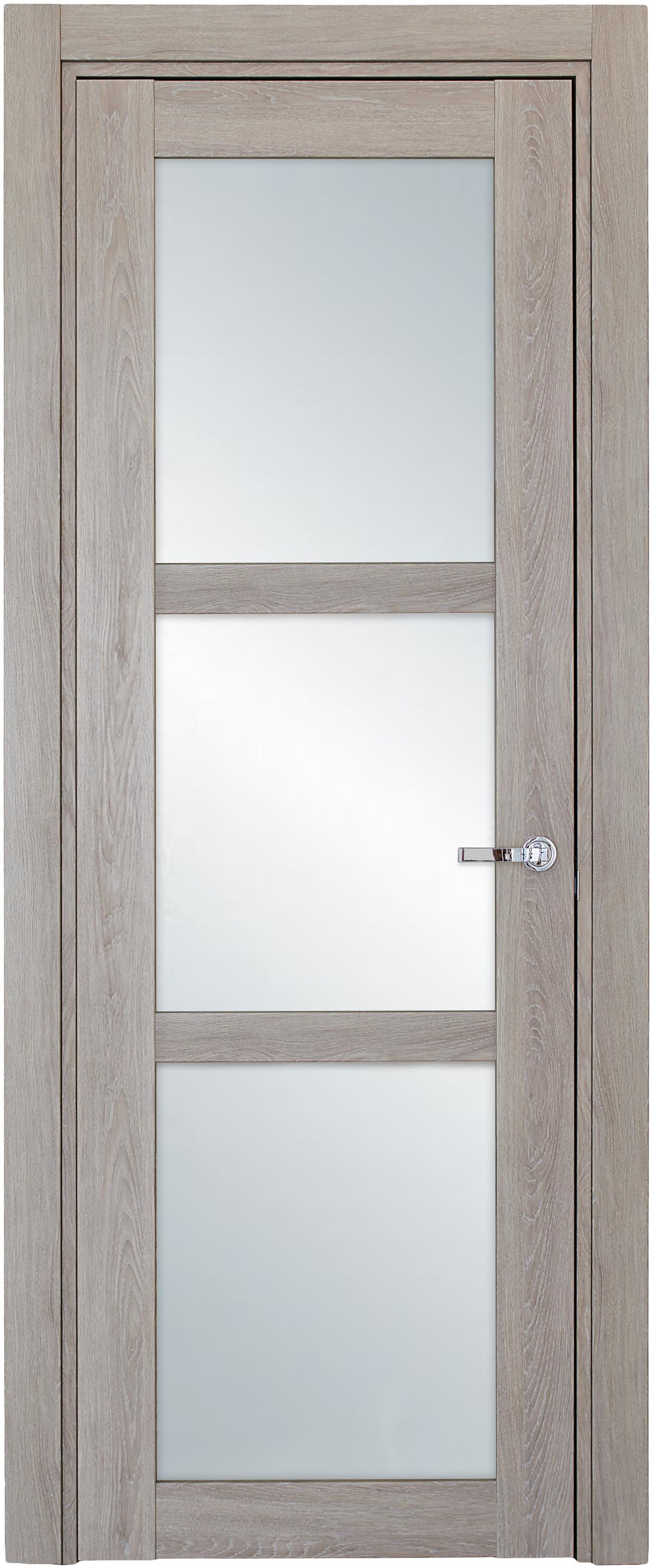 Межкомнатная / входная дверь, отделка: экошпон ДУБ DECAPE, Solo 3S