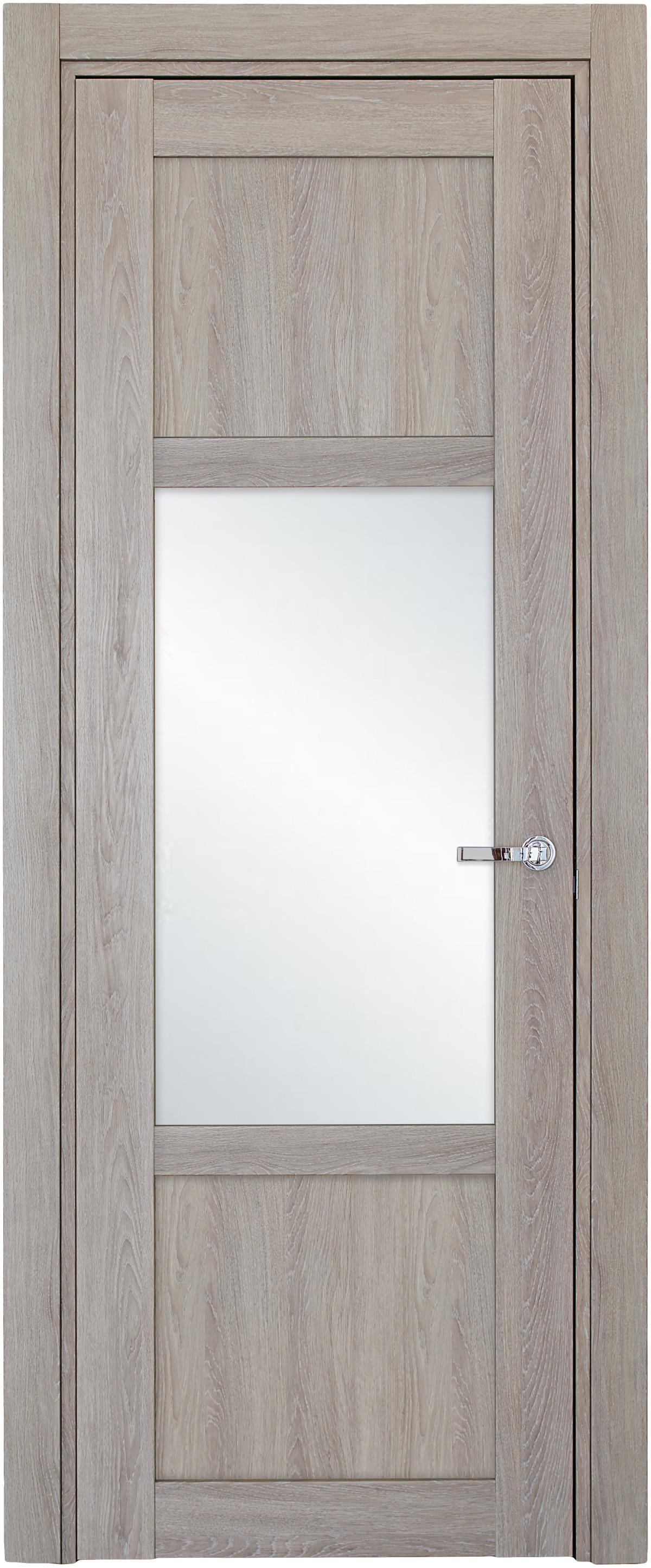 Межкомнатная / входная дверь, отделка: экошпон ДУБ DECAPE, Solo 2BSnP-1