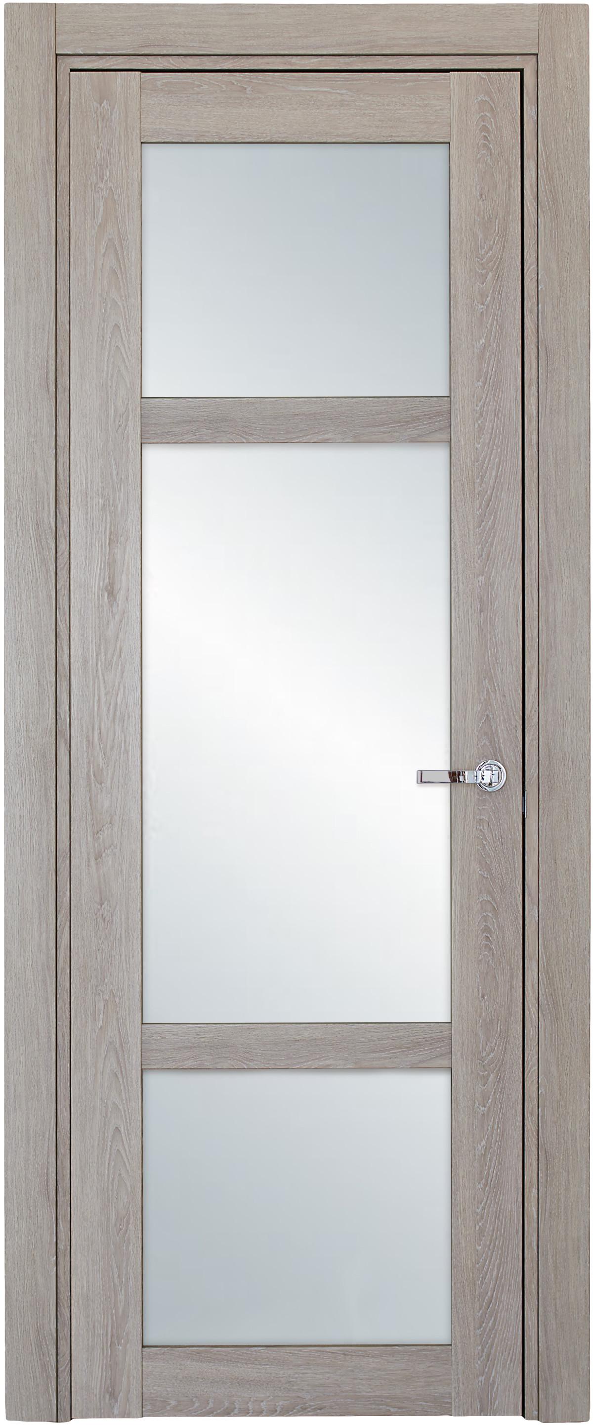 Межкомнатная / входная дверь, отделка: экошпон ДУБ DECAPE, Solo 3SnP-1