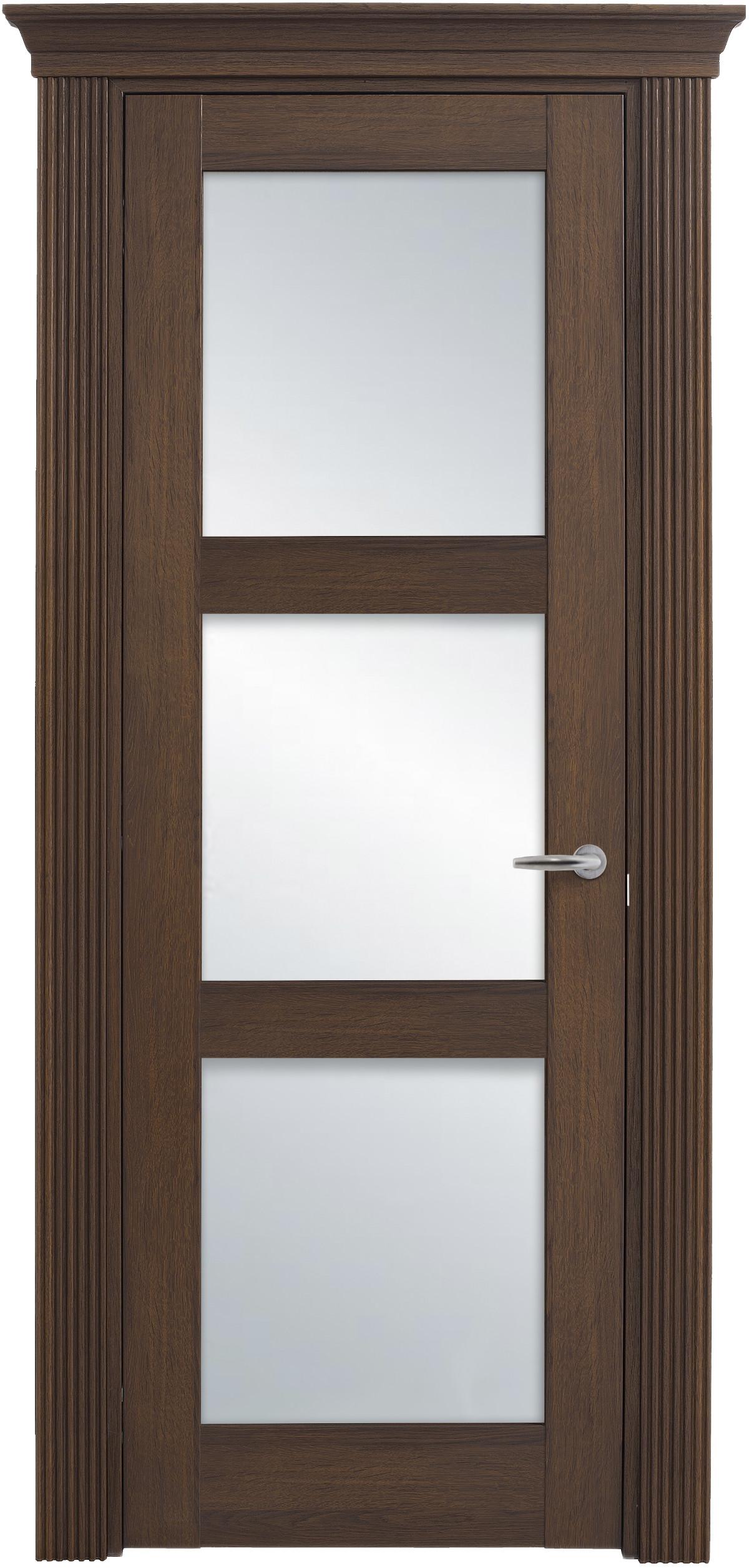 Межкомнатная / входная дверь, отделка: экошпон ГРЕЧЕСКИЙ ОРЕХ, Solo Classic 3S