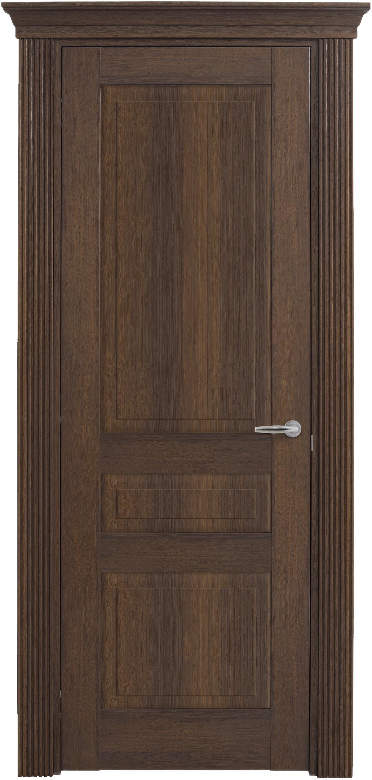Межкомнатная / входная дверь, отделка: экошпон ГРЕЧЕСКИЙ ОРЕХ, Solo Classic 3FnP-2