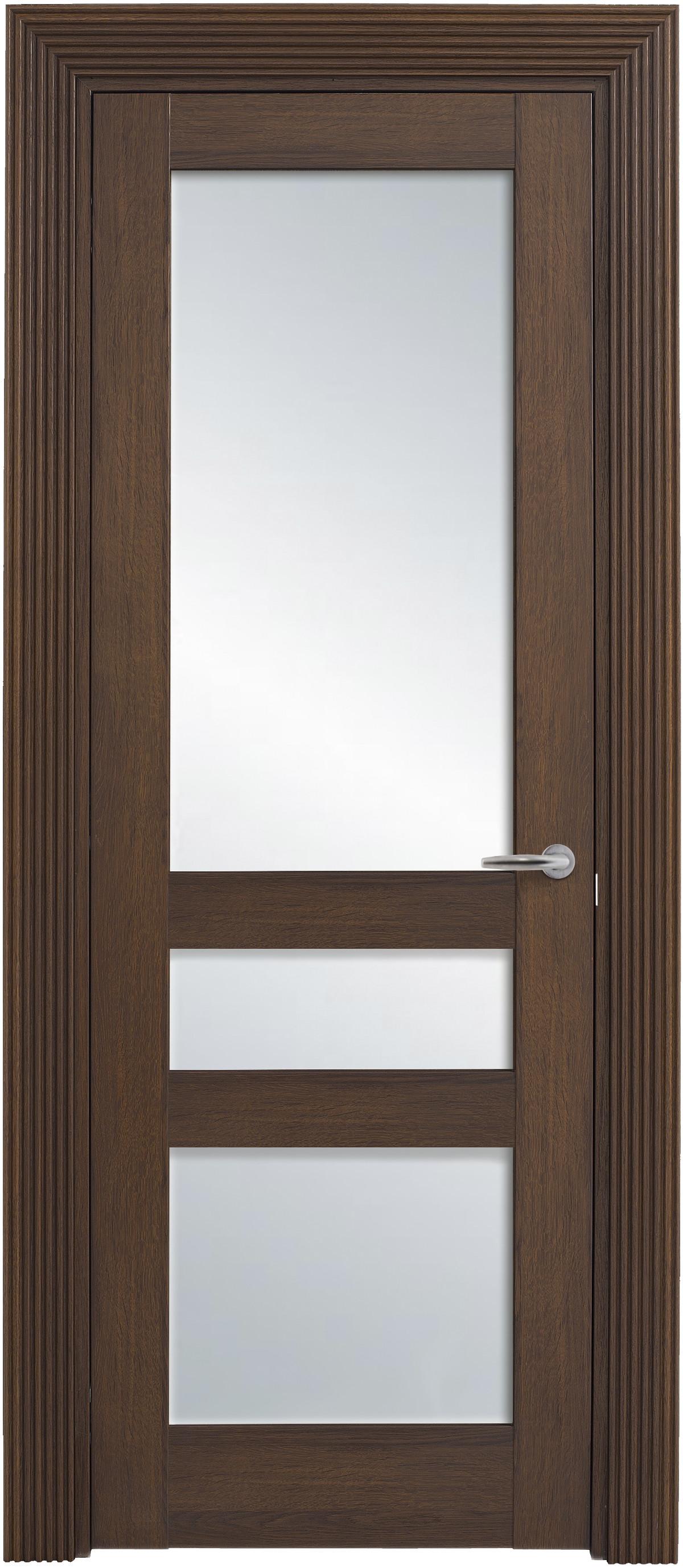 Межкомнатная / входная дверь, отделка: экошпон ГРЕЧЕСКИЙ ОРЕХ, Solo Classic 3SnP-2