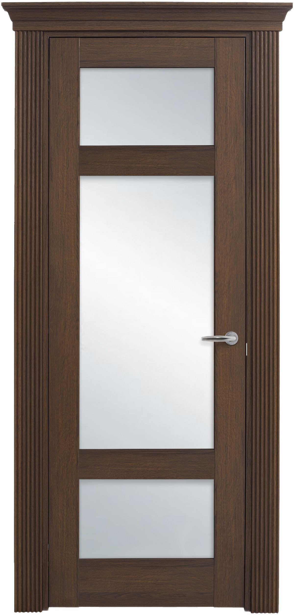 Межкомнатная / входная дверь, отделка: экошпон ГРЕЧЕСКИЙ ОРЕХ, Solo Classic 3SnP-3