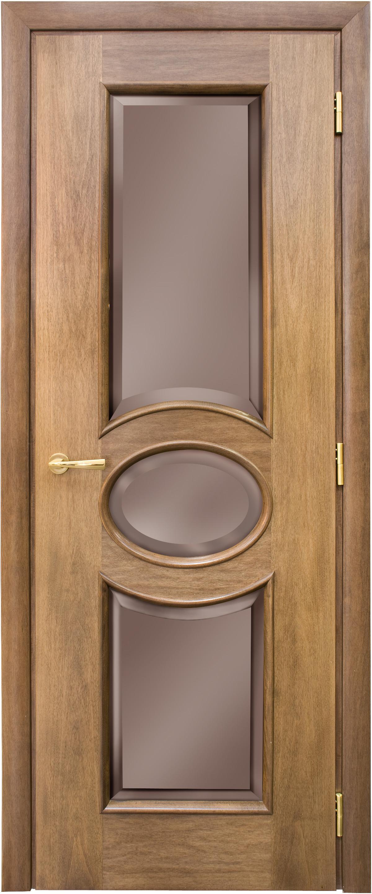 Межкомнатная / входная дверь, отделка: натуральный шпон, Capri Oval VSN