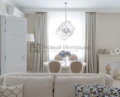 Светлая квартира на Саввинской набережной