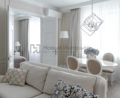 Светлая квартира на Саввинской набережной дизайнер проекта Марина Макарова