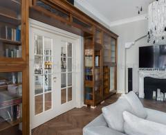 Квартира с атмосферой Старой Москвы дизайнеры Karina Desbordes и Анастасия Потехина