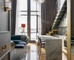 Проект «Квартира в стиле Великого Гэтсби», дизайнеры Александр Якимов и Александр Потемкин, дизайн студия «ВысотА»